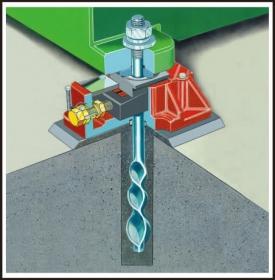 機械基礎固定螺栓系統